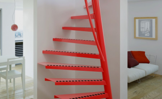 Compact Staircase Space Saving Stairs Narrow Stairs
