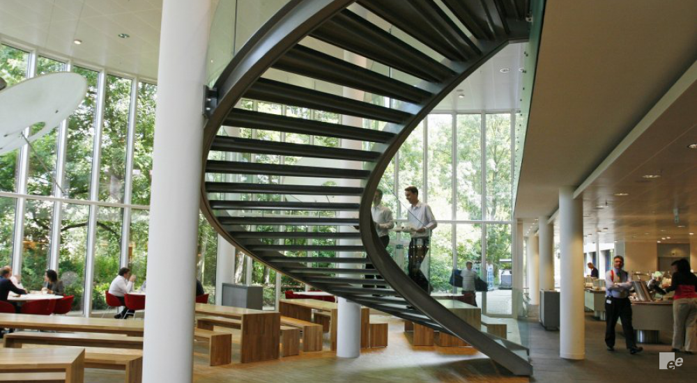 A Sweeping Feature Staircase For Aegon