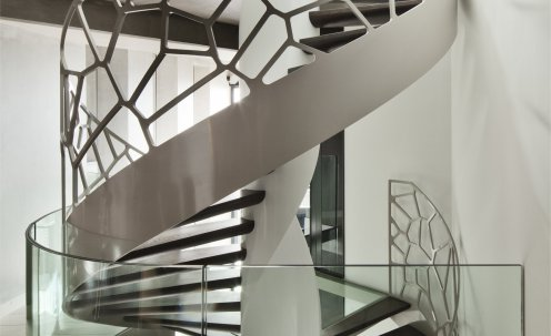 Cells Design Spiral Staircase
